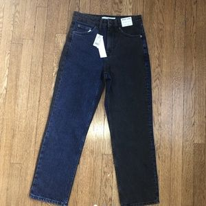 topshop two wash jeans